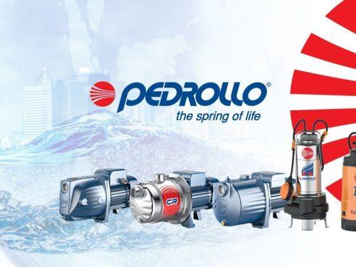 Pedrollo pumpe i pribor